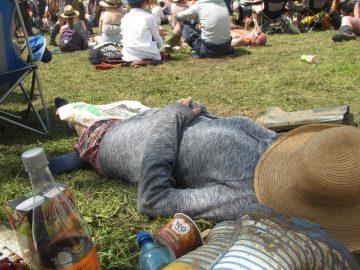 Festival sleep